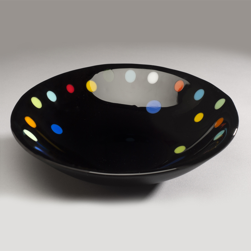 Black M&M Bowl