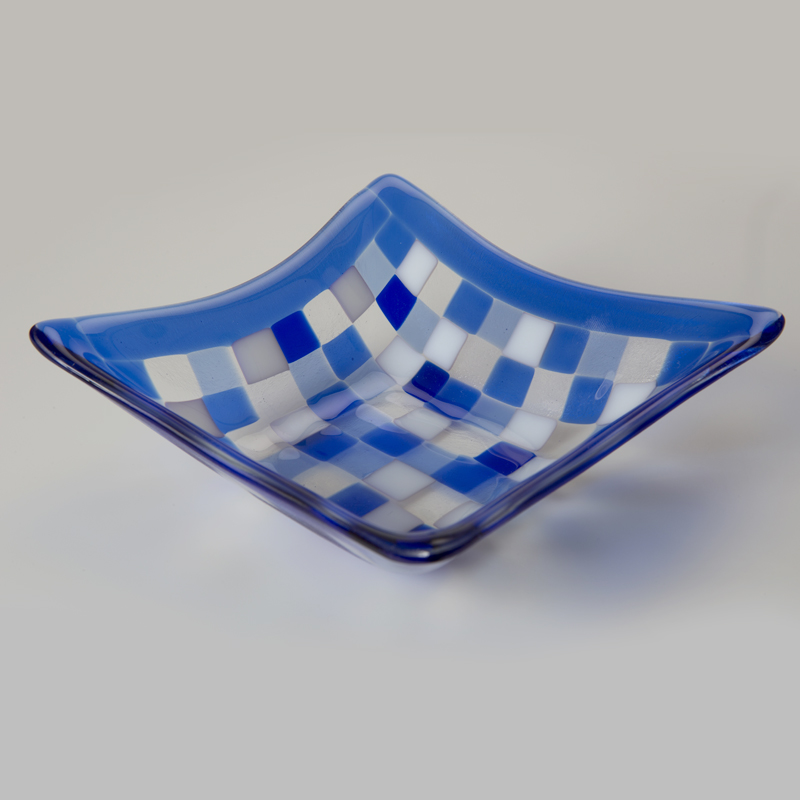 Mosaic Bowl in Blue