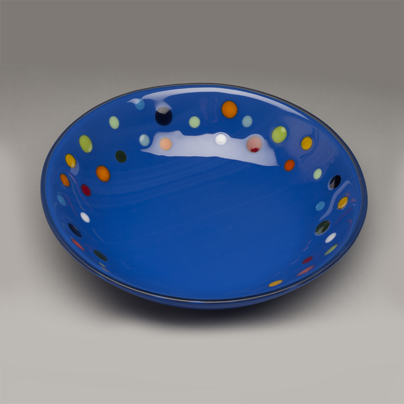 Cobalt M&M Bowl