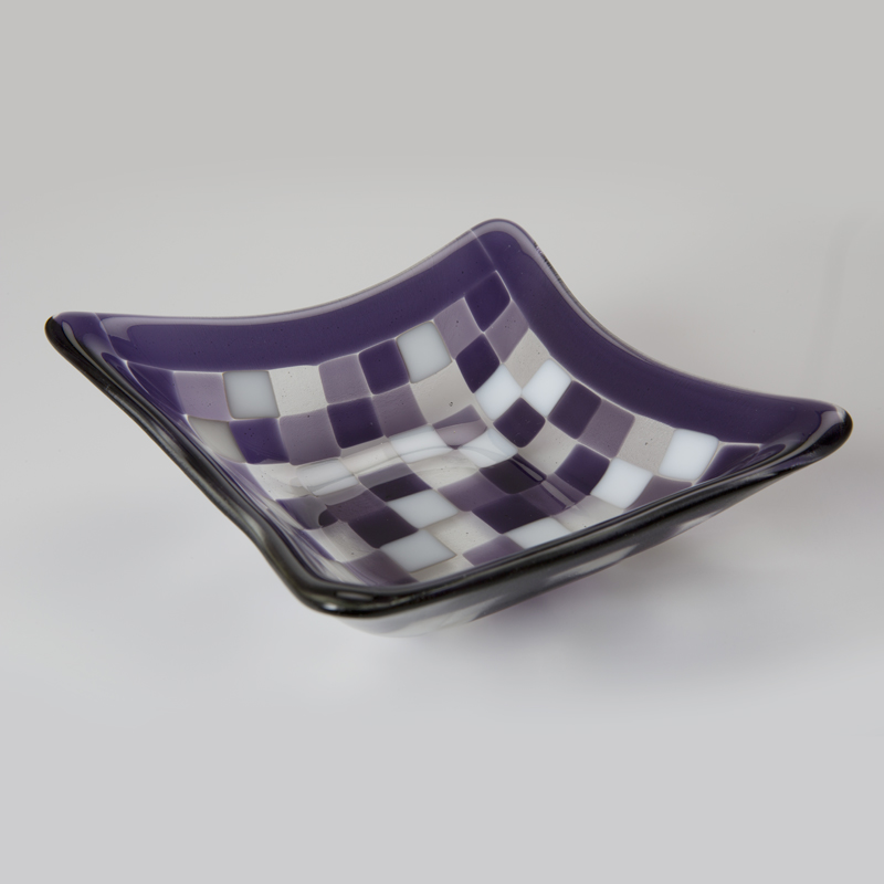 Mosaic Bowl in Purple