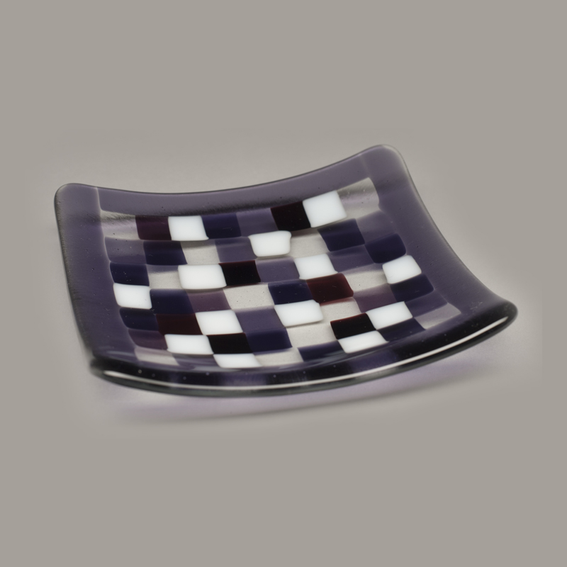 Purple Mosaic plates