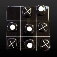 glass tic tac toe game